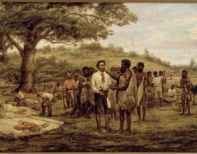 Batman's treaty with the aborigines